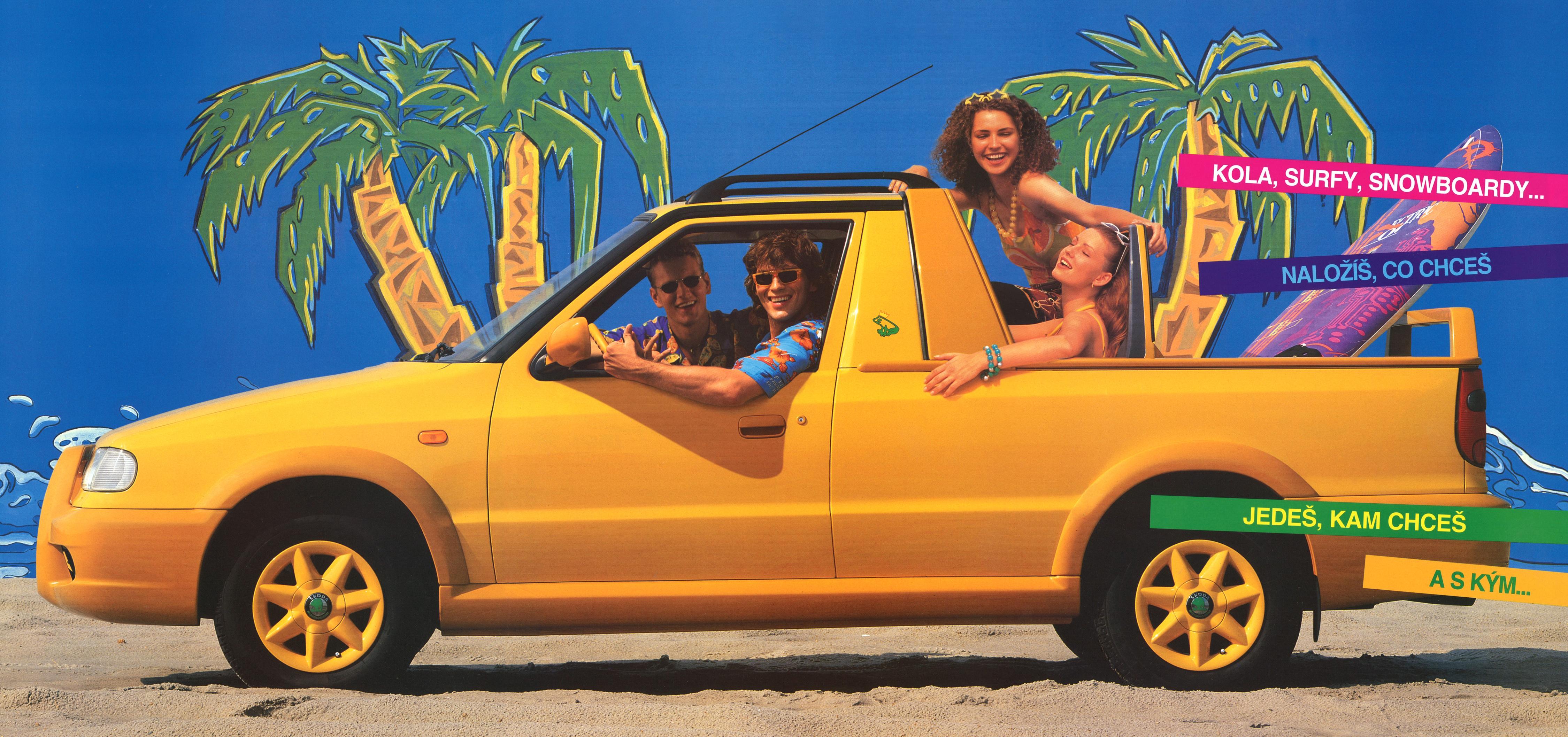 Príbehy menej známych áut: Škoda Felicia Fun