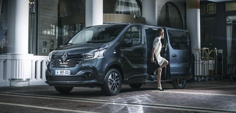 Renault pripravil luxusnú verziu modelu Trafic s názvom SpaceClass