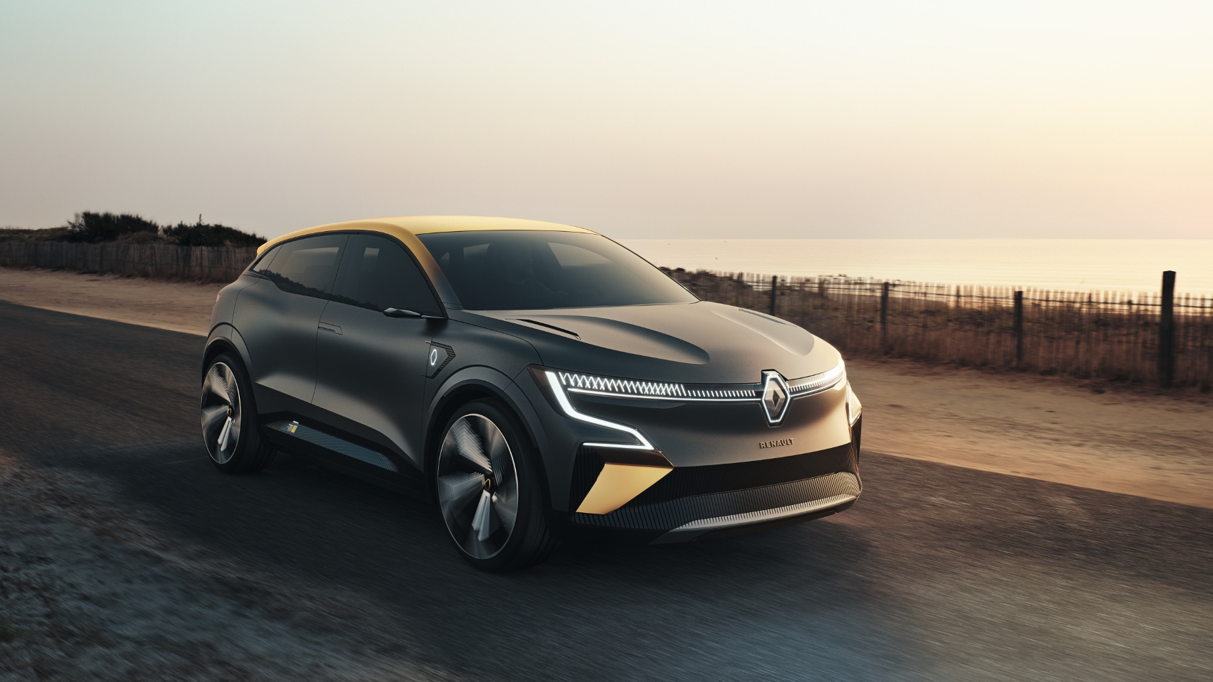 Renault ukázal elektrický koncept Megane. Na tradičný Megane sa nepodobá