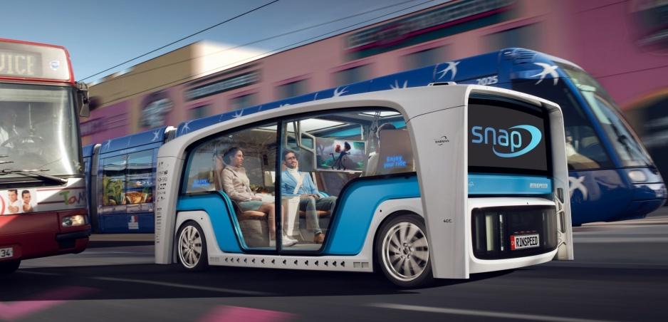 Rinspeed Snap - netradičný pohľad na budúcnosť mobility
