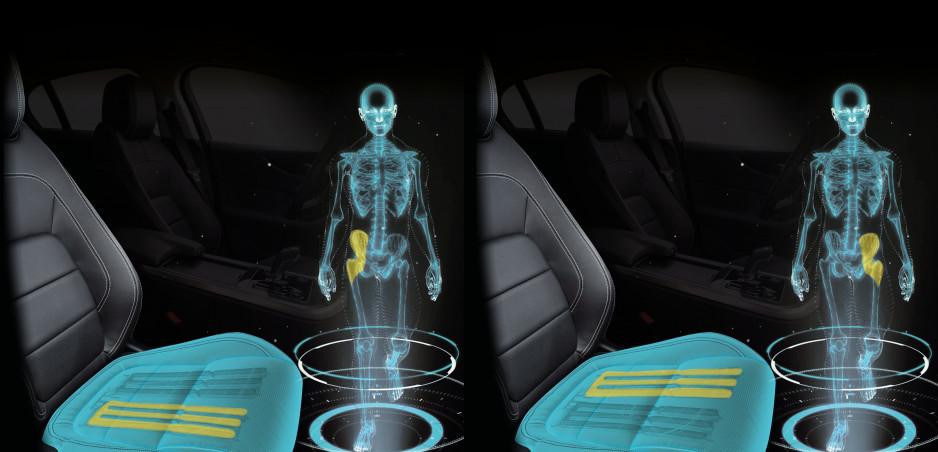 Sedadlo z dielne Jaguar Land Rover presvedčí mozog, že kráčate