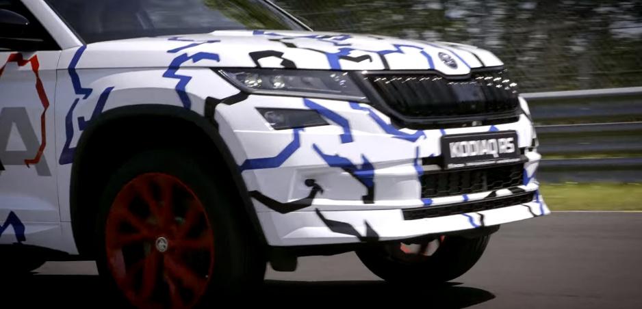 Škoda Kodiaq RS dosiahne na Nürburgringu nový rekord