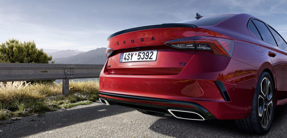 Škoda predstavila vo videu hybridnú Octaviu RS iV (doplnená galéria)