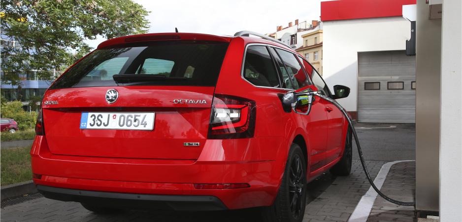 Škoda prichádza s úspornou Octaviou na CNG s motorom 1,5 TSI