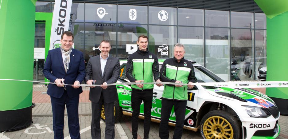 Škoda Slovakia Motorsport sa pobije o slovenský titul v rally