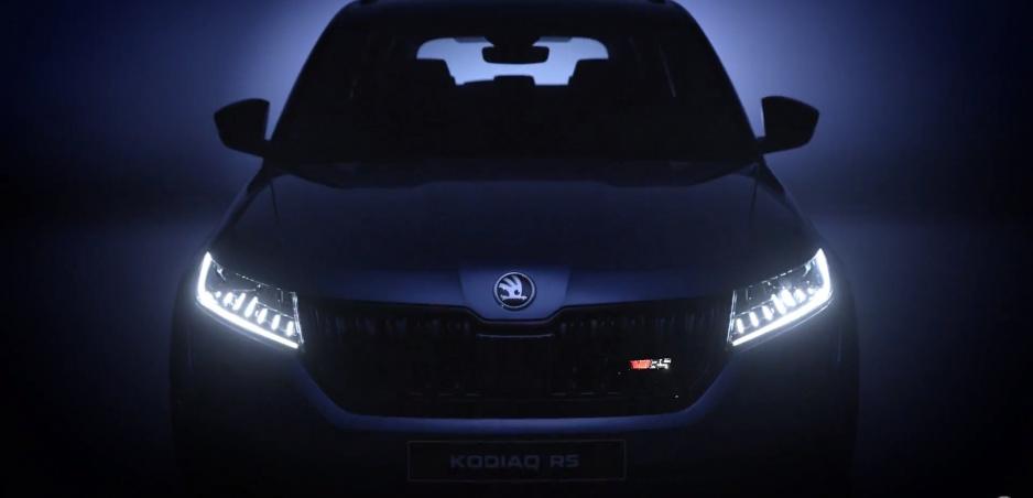 Škoda ukázala Kodiaq RS v ďalšom videu