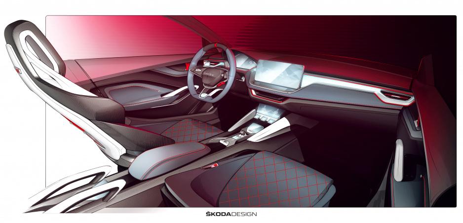 Škoda vo videu ukázala interiér Vision RS