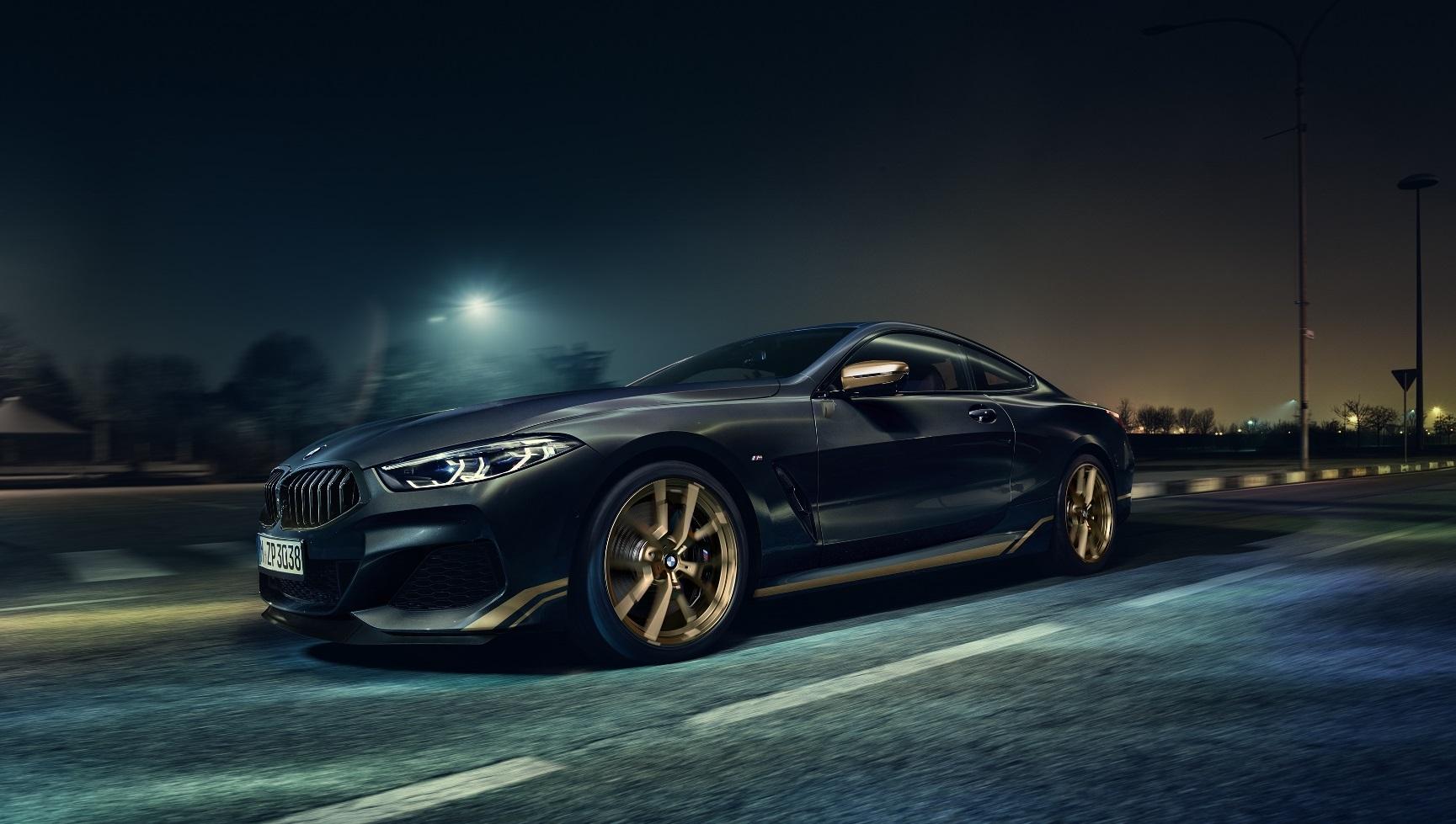 Špeciálne BMW radu 8 Golden Thunder Edition útočí na zmysly