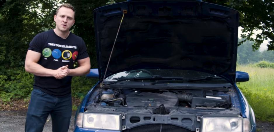 Stará Škoda Octavia 1,9 TDI zvládla jazdu na použitý olej z fritézy