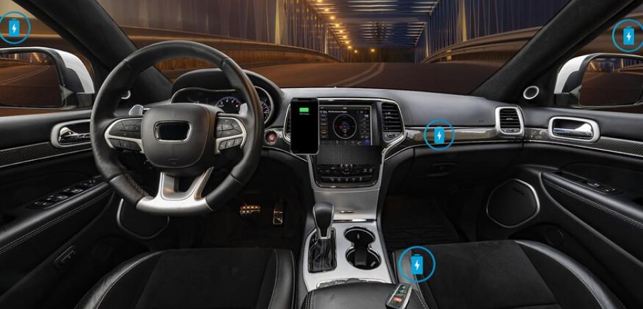 Telefóny už nabijeme bezdotykovo kdekoľvek v aute