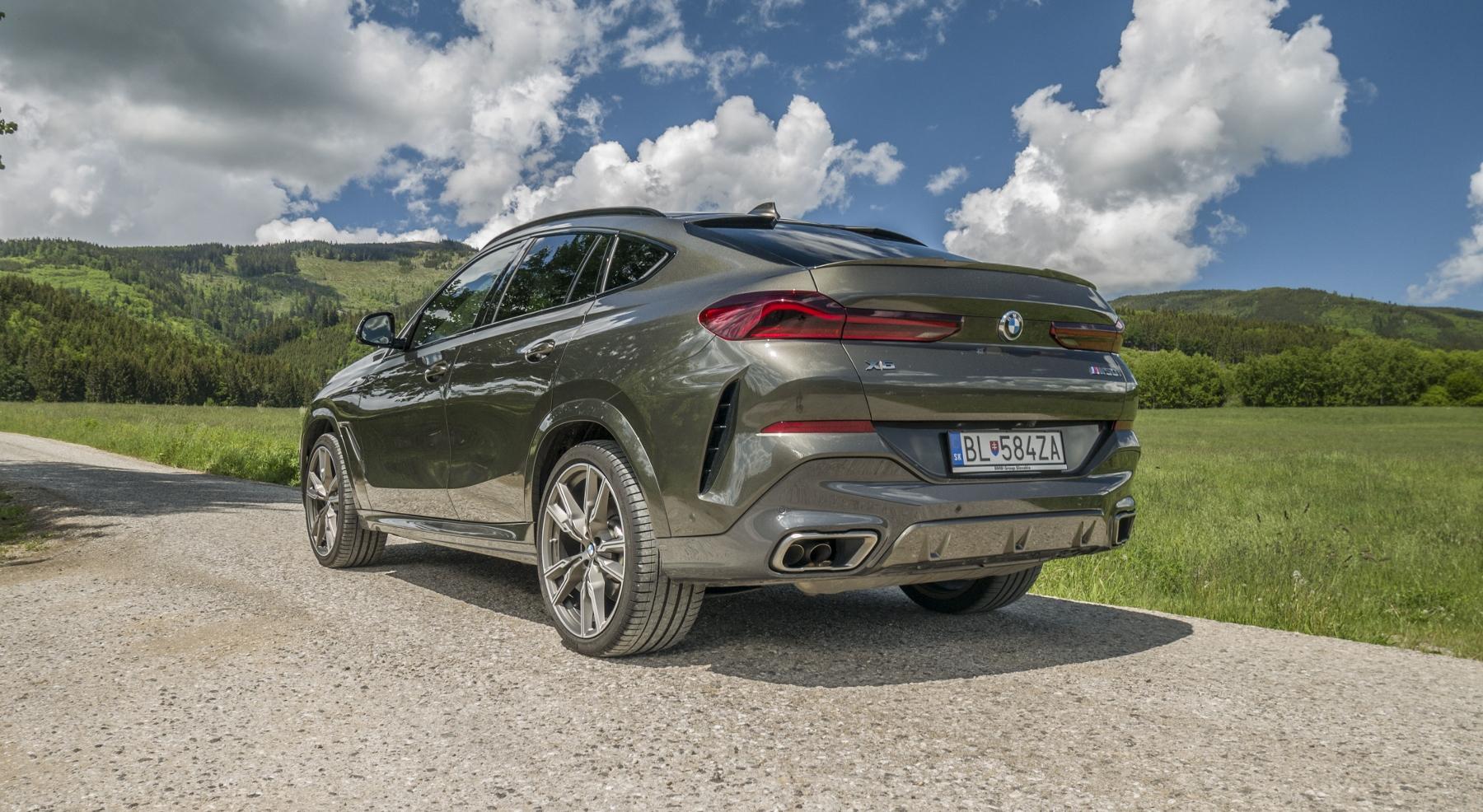 Test: BMW X6 M50i napína benzínové svaly, ale neukazuje plnú silu OjPtIbFzZ4 bmw-x6-m50i-14