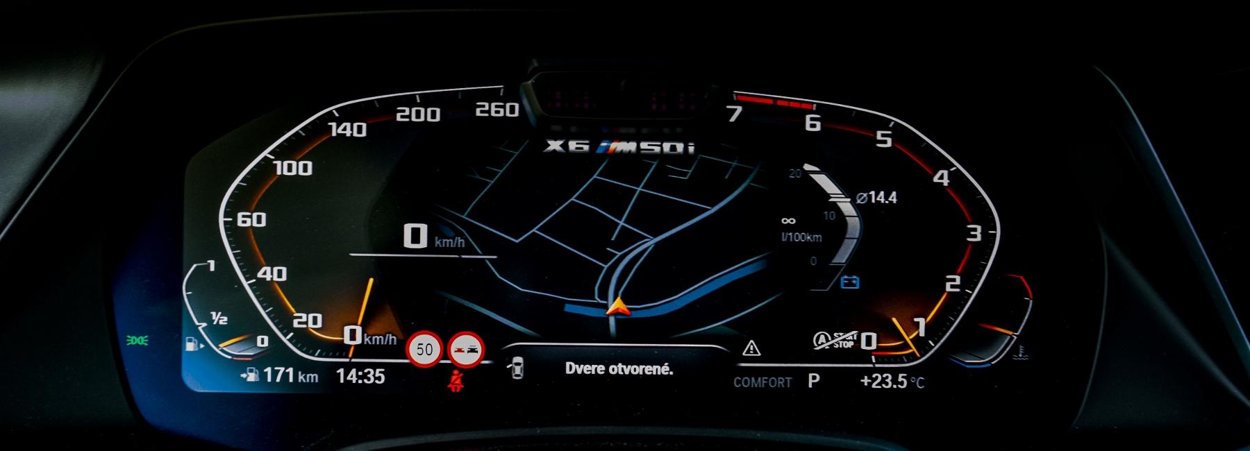 Test: BMW X6 M50i napína benzínové svaly, ale neukazuje plnú silu qoWhmKANUN bmw-x6-m50i-40
