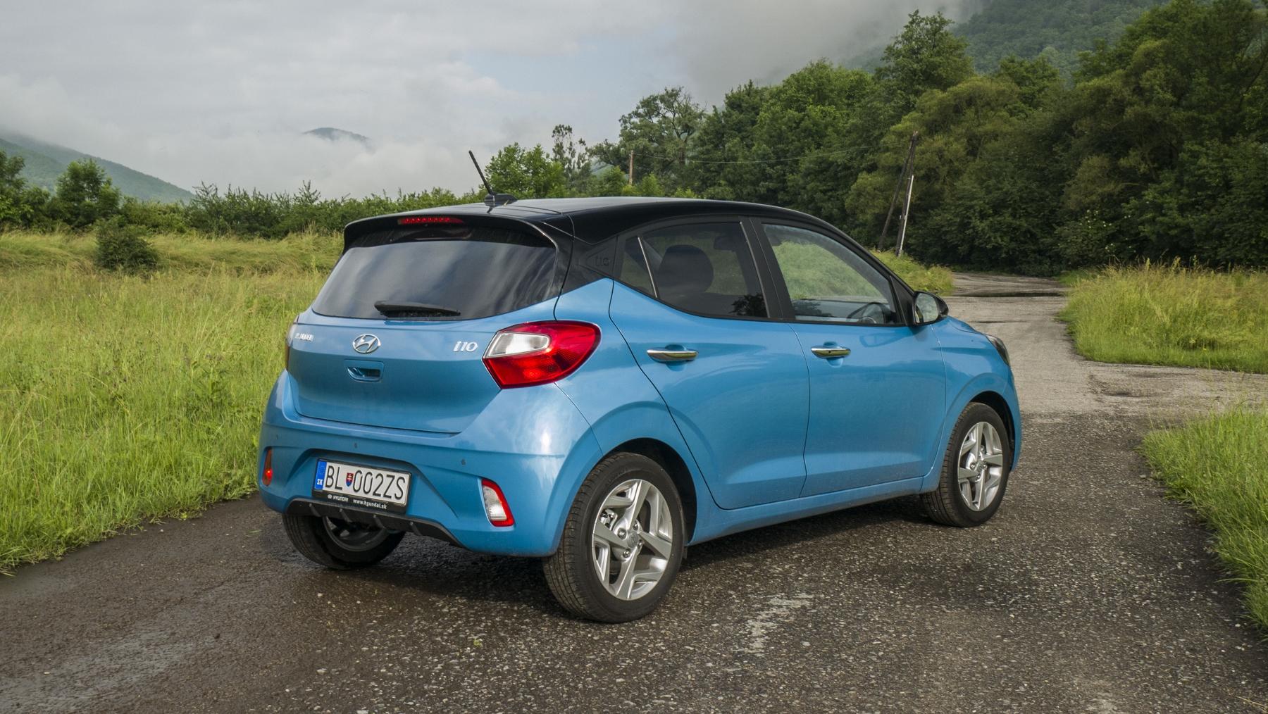 Test: Hyundai i10 je zameraný do mesta. Zo škatuľky vytŕča podvozkom 9tfilvBvKx hyundai-i10-24