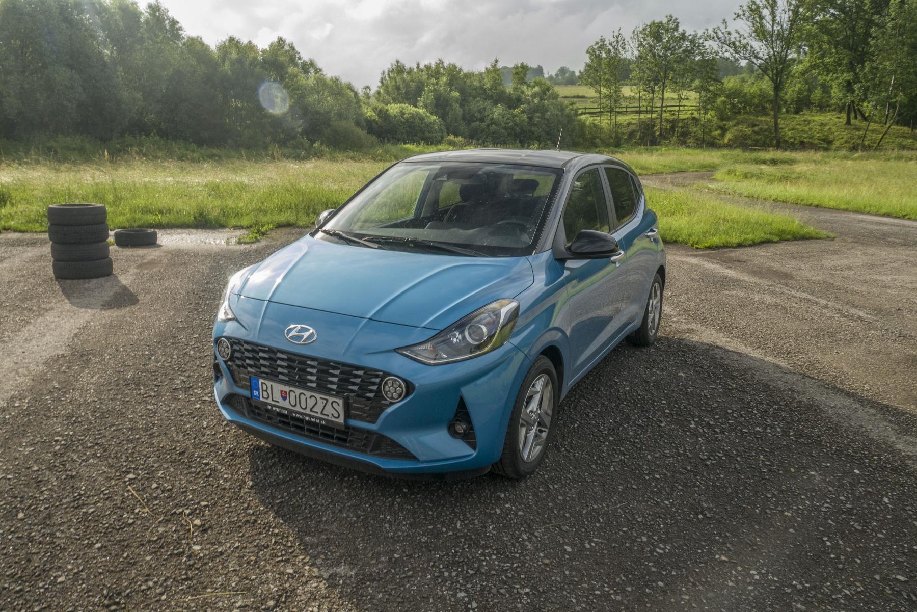 Test: Hyundai i10 je zameraný do mesta. Zo škatuľky vytŕča podvozkom