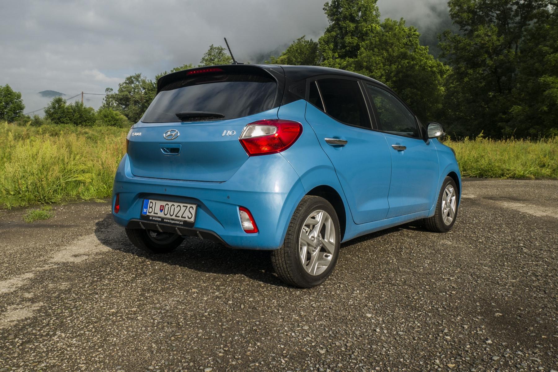 Test: Hyundai i10 je zameraný do mesta. Zo škatuľky vytŕča podvozkom KLnzhlHIya hyundai-i10-18