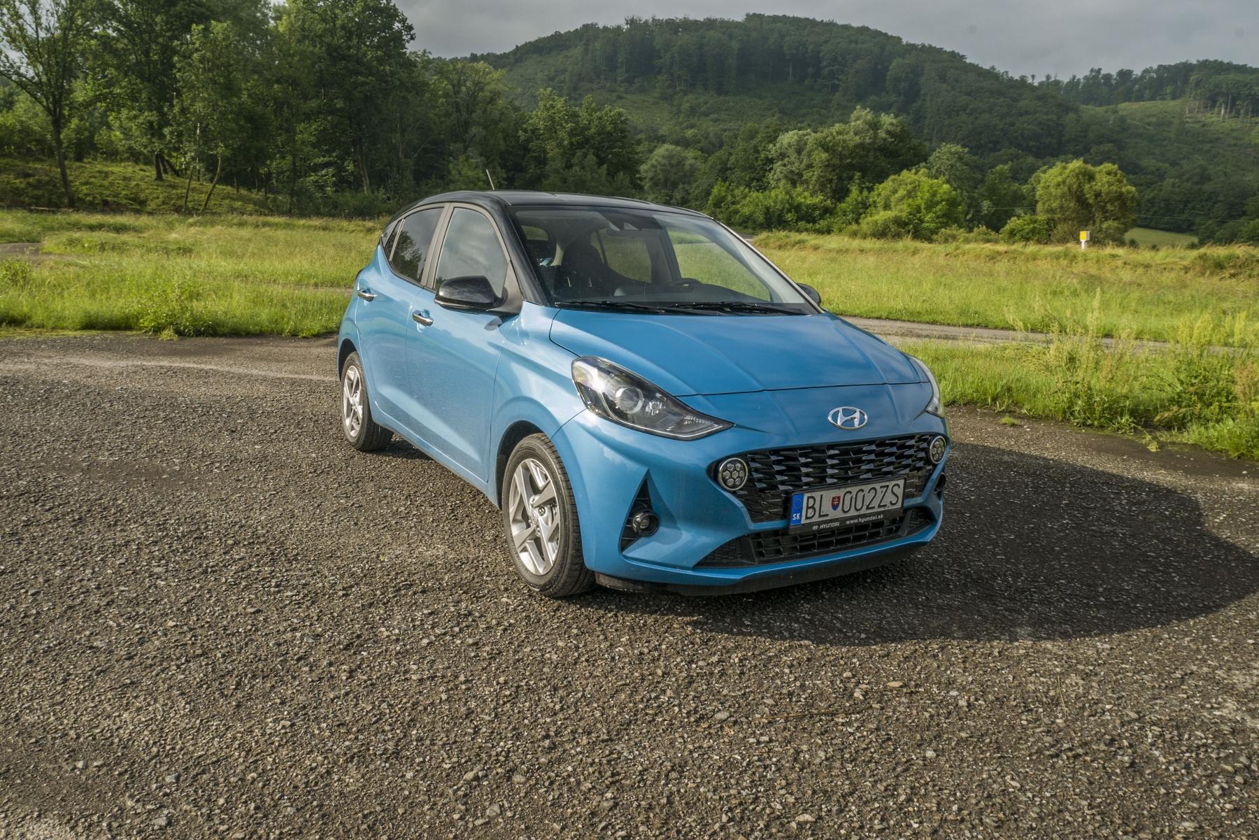 Test: Hyundai i10 je zameraný do mesta. Zo škatuľky vytŕča podvozkom R494MQWZQ0 hyundai-i10-20