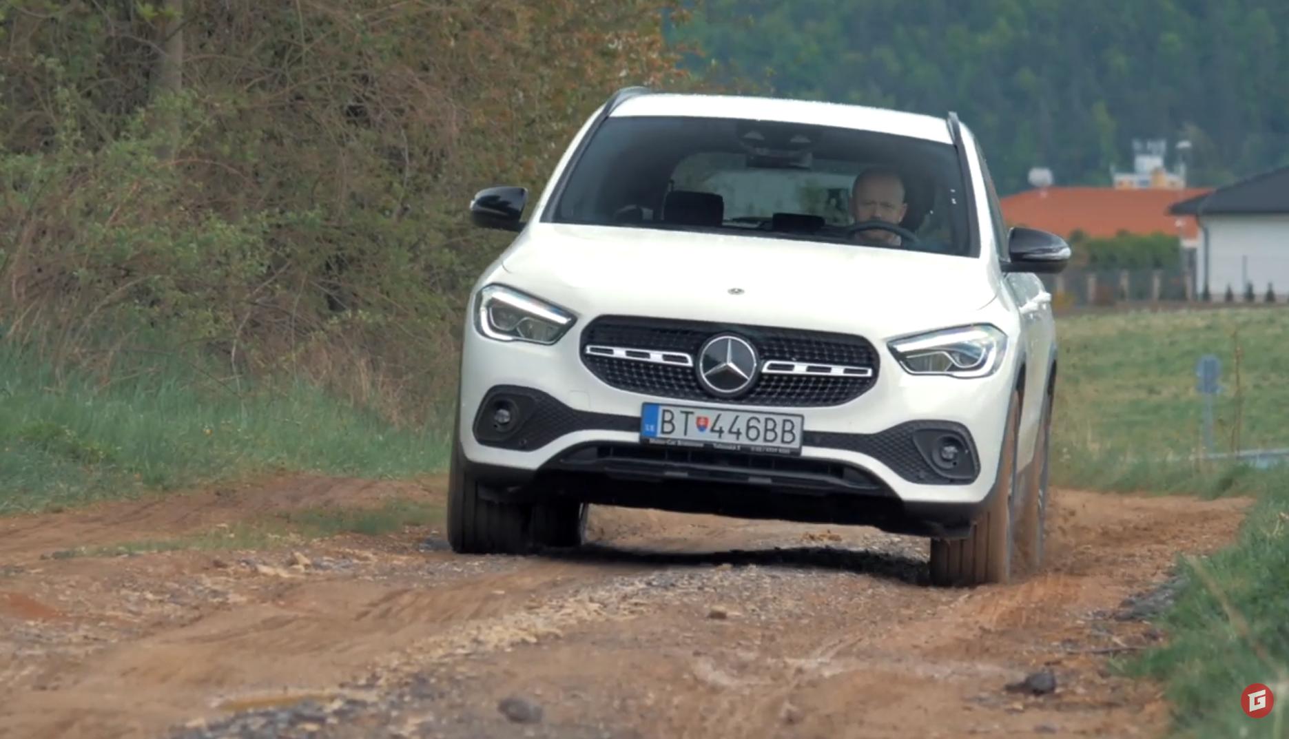 Test: Mercedes GLA 200d vyniká priestorom a spotrebou
