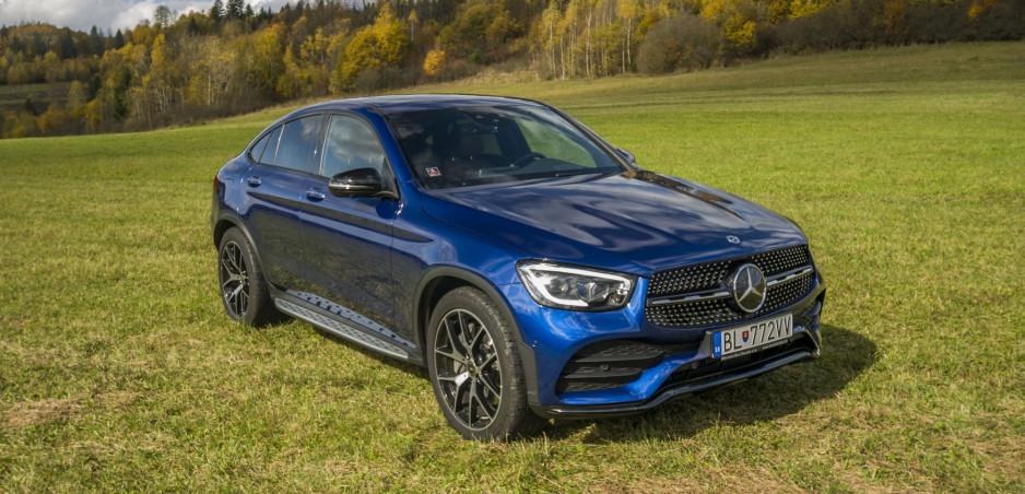 Test: Mercedes GLC Coupé stavia na štýle a bohatej výbave