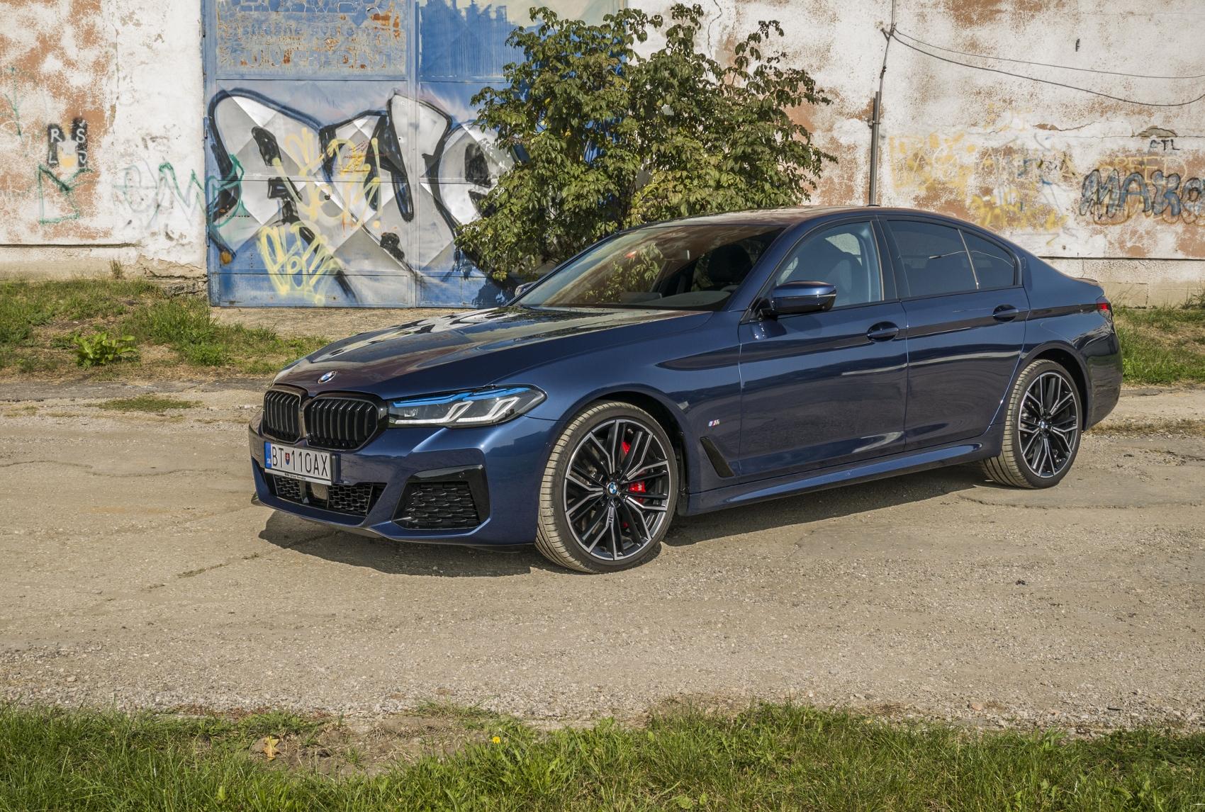 Test: Najsilnejšou zbraňou BMW 540d ostáva podvozok