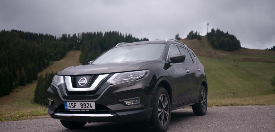Test Nissan X-Trail: Auto nielen do terénu