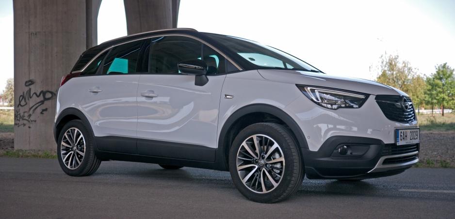 Test Opel Crossland X: Aj s malým šašom sa dá zahrať veľké divadlo