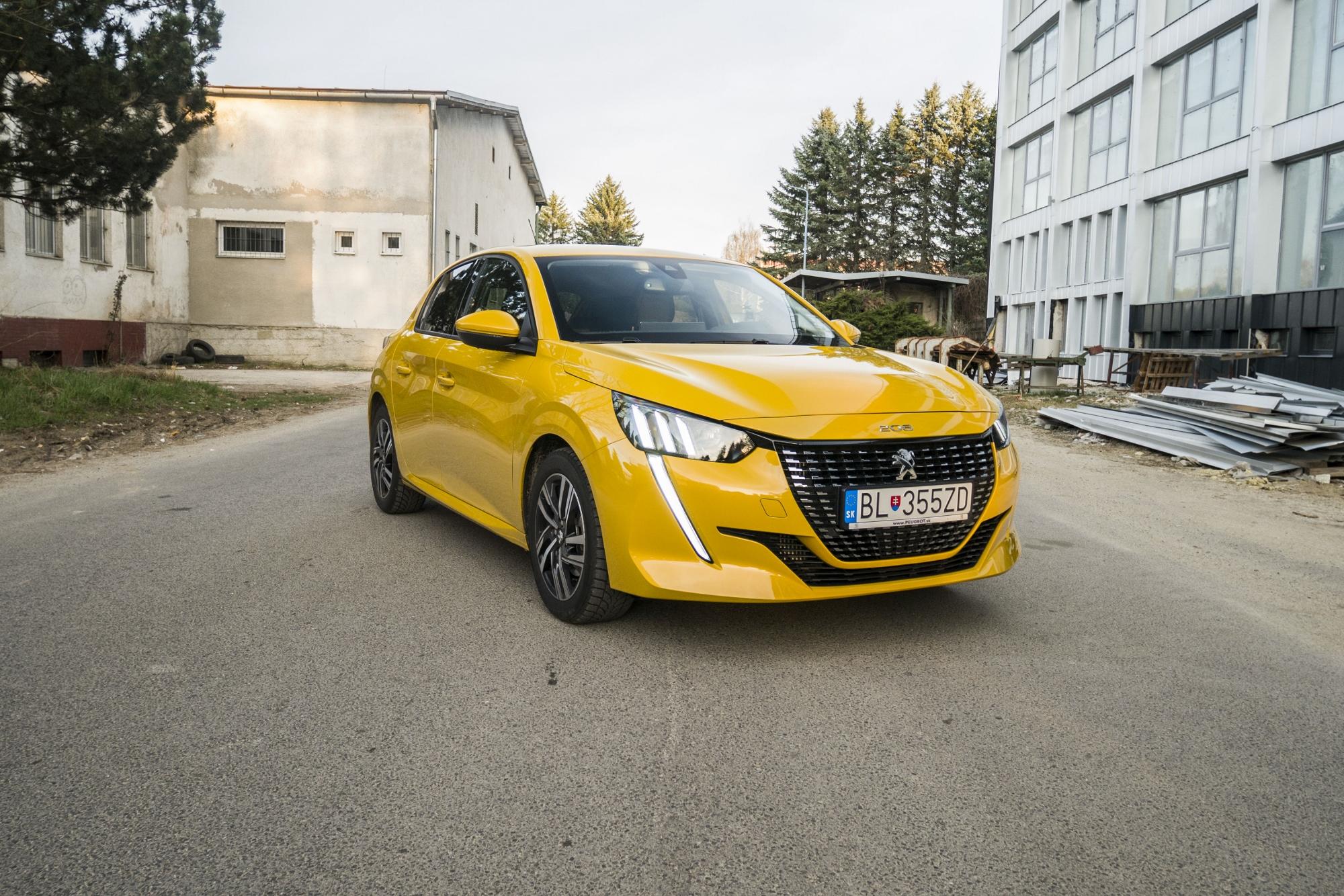 Test: Peugeot 208 prekvapivo pútal pohľady