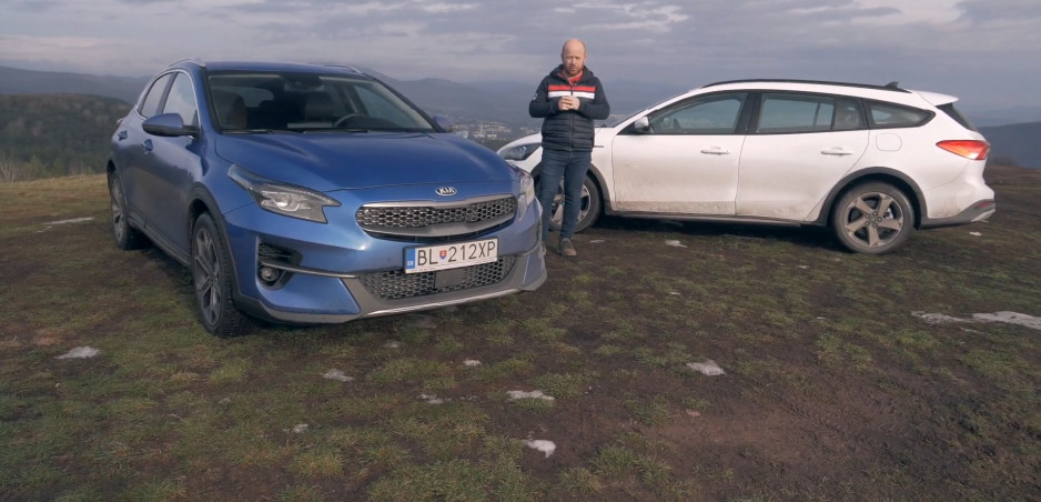 Test: Porovnali sme benzínovú Kiu XCEED a Ford Focus Active na rozbitých cestách