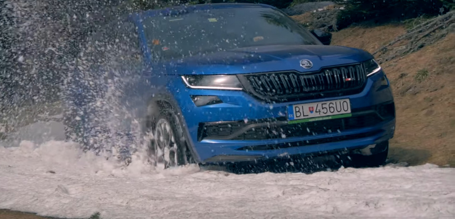 Test: Pozrite si, ako Škoda Kodiaq RS obstála v našej rýchlostnej skúške