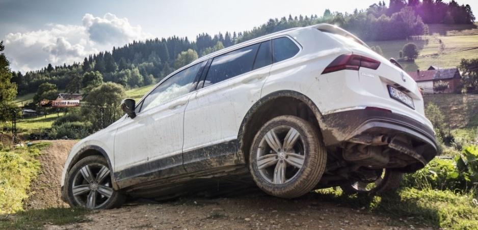 Test Volkswagen Tiguan 2.0 TDI. Po krk v bahne