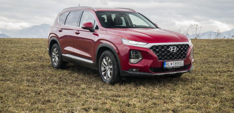 Test: Vyskúšali sme najlacnejší Hyundai Santa Fe Smart. Ide o výhodný kompromis