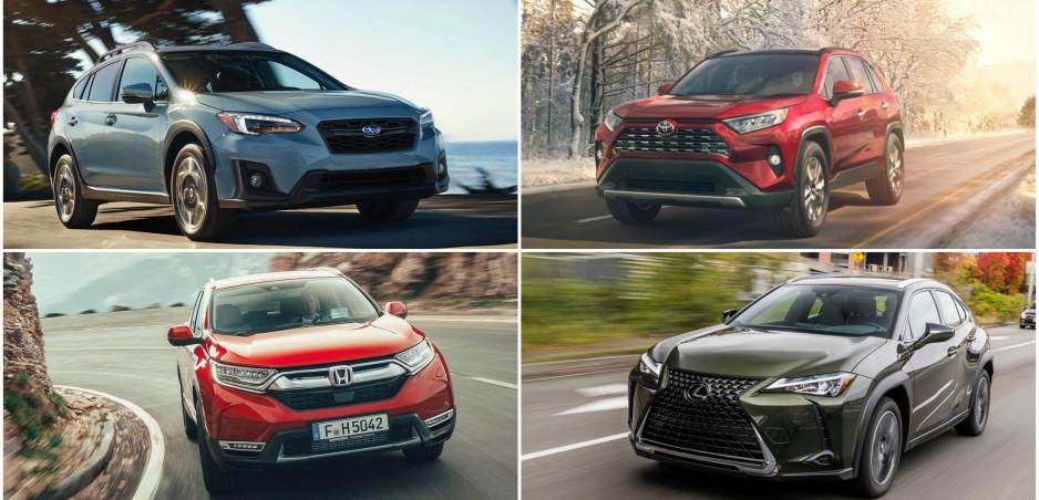 Toto je 10 najúspornejších SUV podľa Consumer Reports