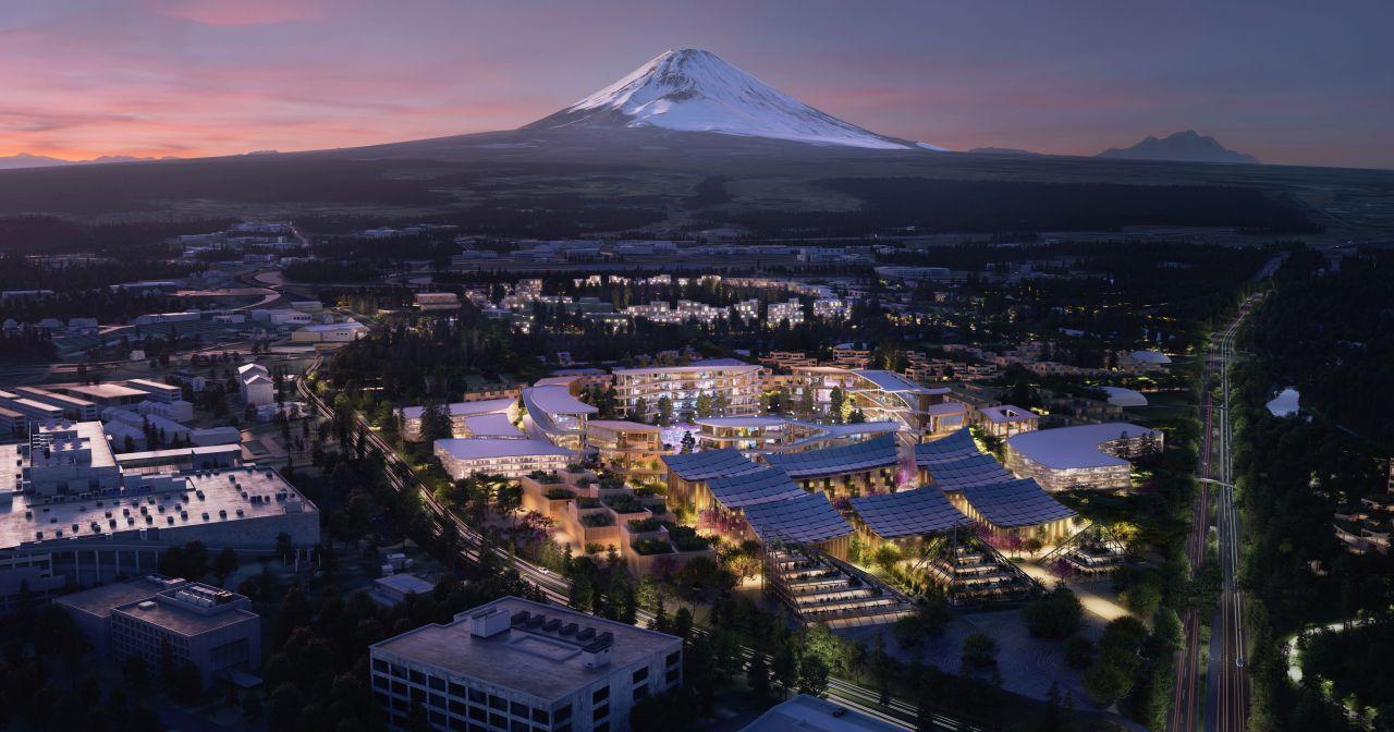 Toyota buduje mesto Woven City. Bude to živé laboratórium