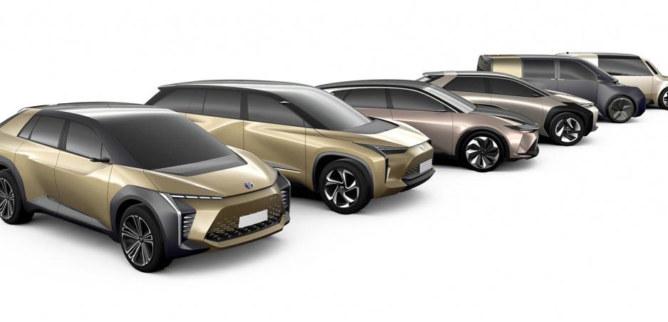 Toyota uvedie na trh elektrickú verziu C-HR, a aj ďalších 9 elektromobilov