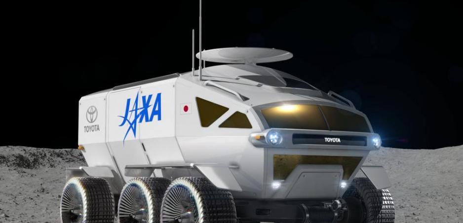 Toyota vyvíja lunárne vozidlo na palivové články