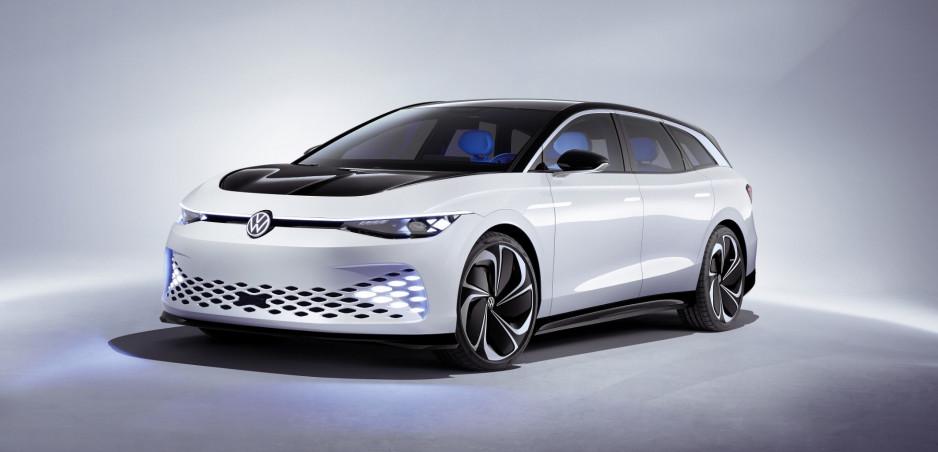 Volkswagen ukázal elektrické kombi ID. Space Vizzion. Predávať ho bude aj v Európe