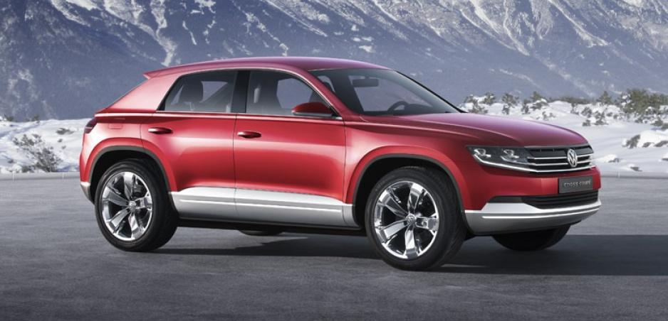 Volkswagen vraj pripravuje Tiguan Coupe, prísť by mal už budúci rok