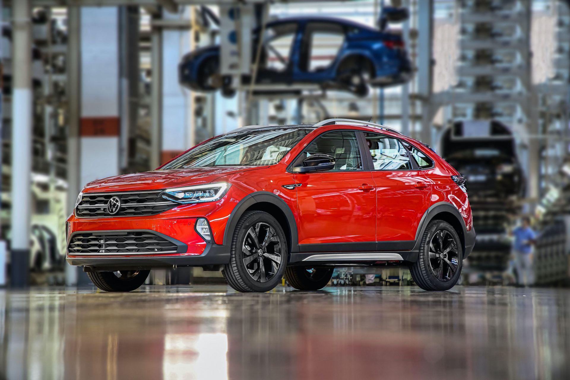 Volkswagen začal s výrobou crossoveru Nivus