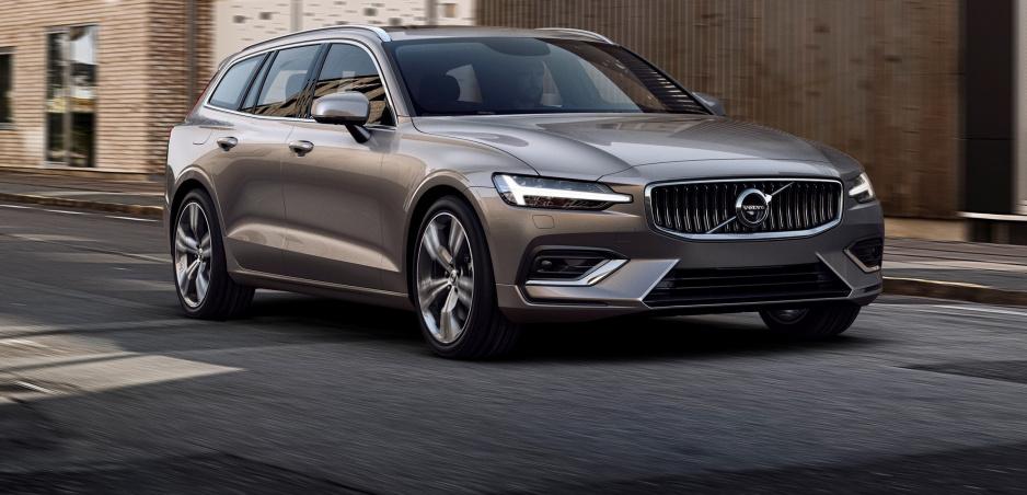 Volvo ukázalo krásne rodinné kombi V60