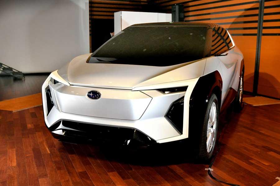 Subaru potvrdilo príchod elektrického crossoveru veľkosti Forestera do Európy
