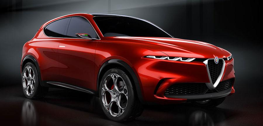 Crossover Alfa Romeo Tonale sa má začať predávať v novembri