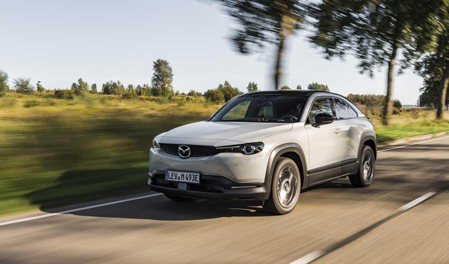 Elektrická Mazda MX-30 dostane rotačný motor na predĺženie dojazdu