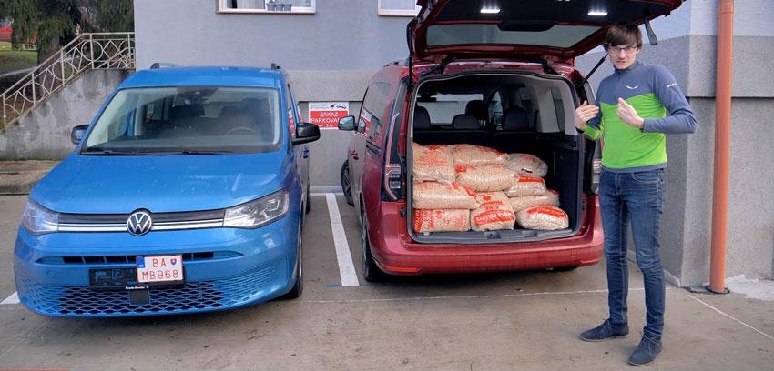 Test: Volkswagen Caddy sme otestovali naložený