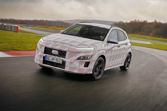Nový Hyundai Kona N má kombinovať výkon s praktickou stránkou