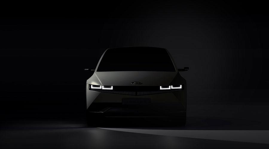 Hyundai ukázal elektrický Ioniq 5 na prvých fotkách