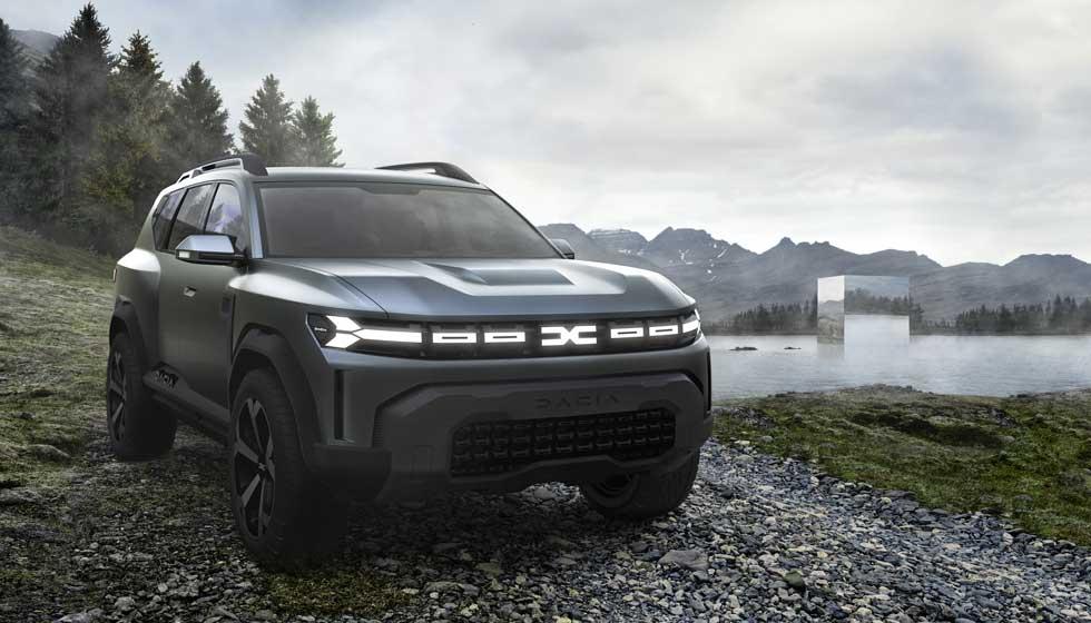 Koncept Dacia Bigster predznamenáva nové SUV väčšie ako Duster