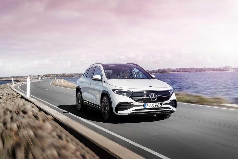 Mercedes predstavil elektrické SUV EQA a prezradil slovenskú cenu