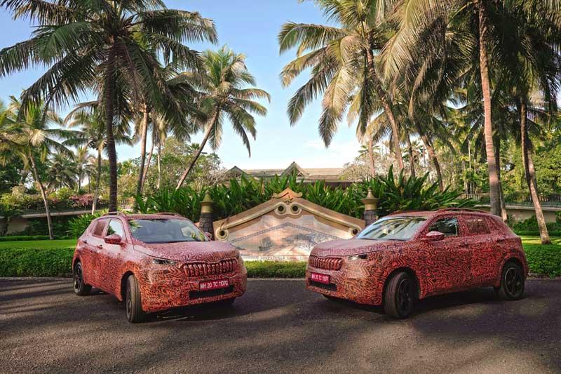Škoda ukázala maskované SUV Kushaq. Predávať sa bude v Indii