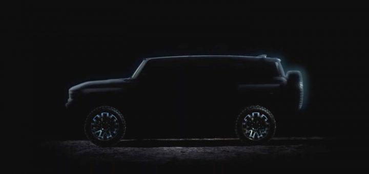 Elektrický Hummer vo verzii SUV predstavia vo februári
