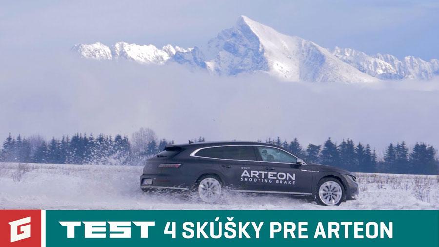 Test: 4 skúšky pre Volkswagen Arteon Shooting Brake