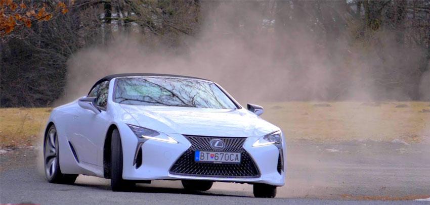 Test: Lexus LC500 Convertible V8 5.0